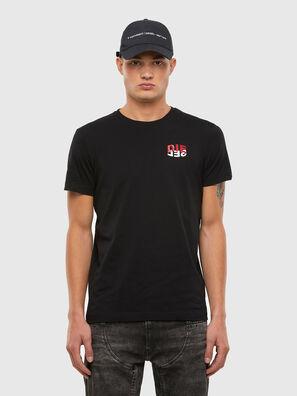 T-DIEGOS-N25, Black - T-Shirts