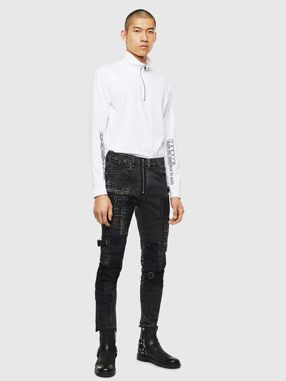 Diesel - T-DIEGO-LS-DOLCE, White - T-Shirts - Image 5