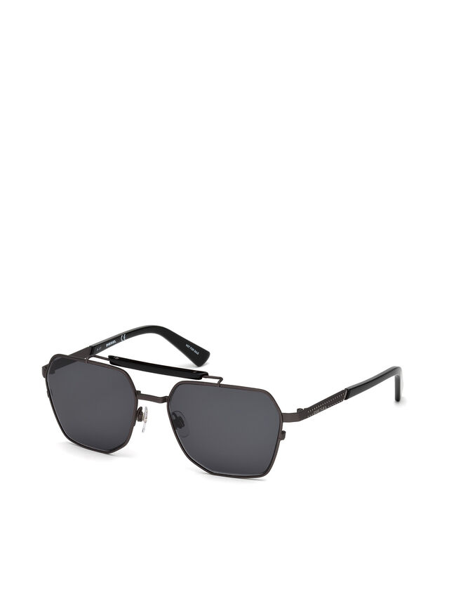 Diesel - DL0256, Black - Sunglasses - Image 2