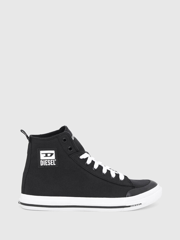 S-ASTICO MID CUT W, Black - Sneakers