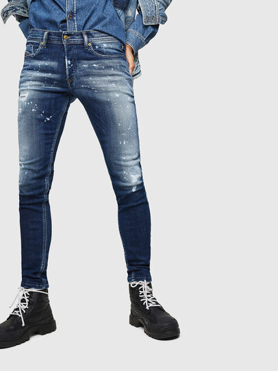 Diesel - Sleenker 0091Y, Medium blue - Jeans - Image 1