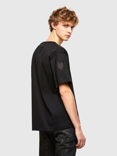 Diesel - T-CROLF, Black - T-Shirts - Image 2