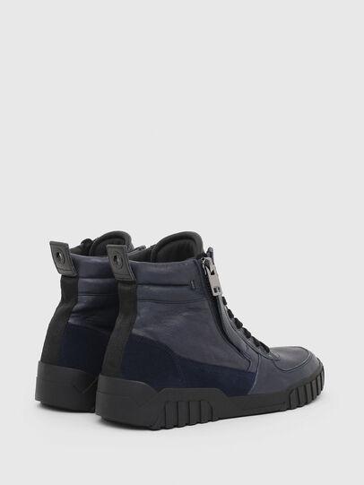Diesel - S-RUA MID, Blue - Sneakers - Image 3