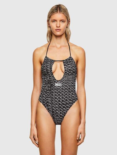 Diesel - BFSW-RHIAS, Black/White - Swimsuits - Image 1