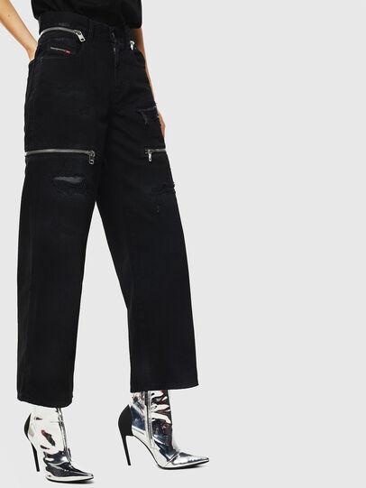 Diesel - Widee 069JA, Black/Dark grey - Jeans - Image 3