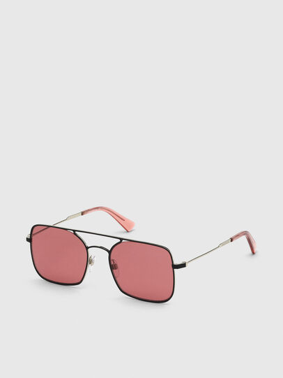 Diesel - DL0302, Pink/Black - Sunglasses - Image 2