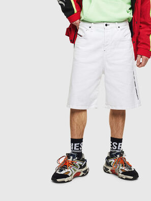 D-BRON, White - Shorts