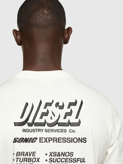 Diesel - T-JUST-A33, White - T-Shirts - Image 4