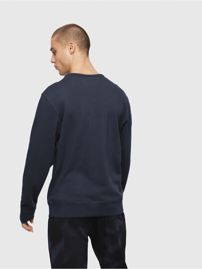 Diesel - UMLT-WILLY, Blue Marine - Sweaters - Image 2
