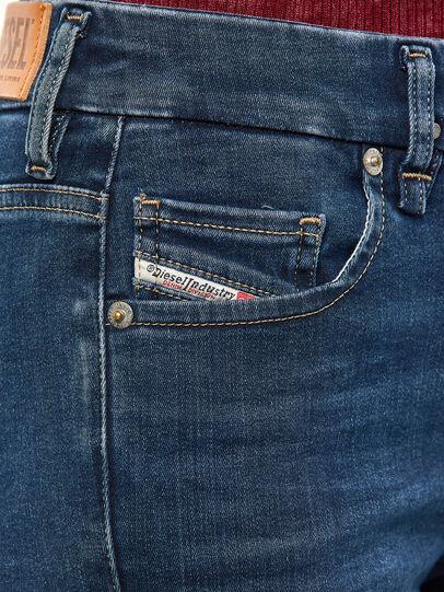 Diesel - Slandy-B 009JP, Dark Blue - Jeans - Image 4
