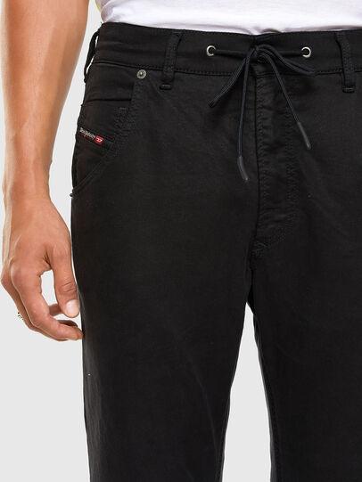 Diesel - Krooley JoggJeans 069NC, Black/Dark grey - Jeans - Image 3