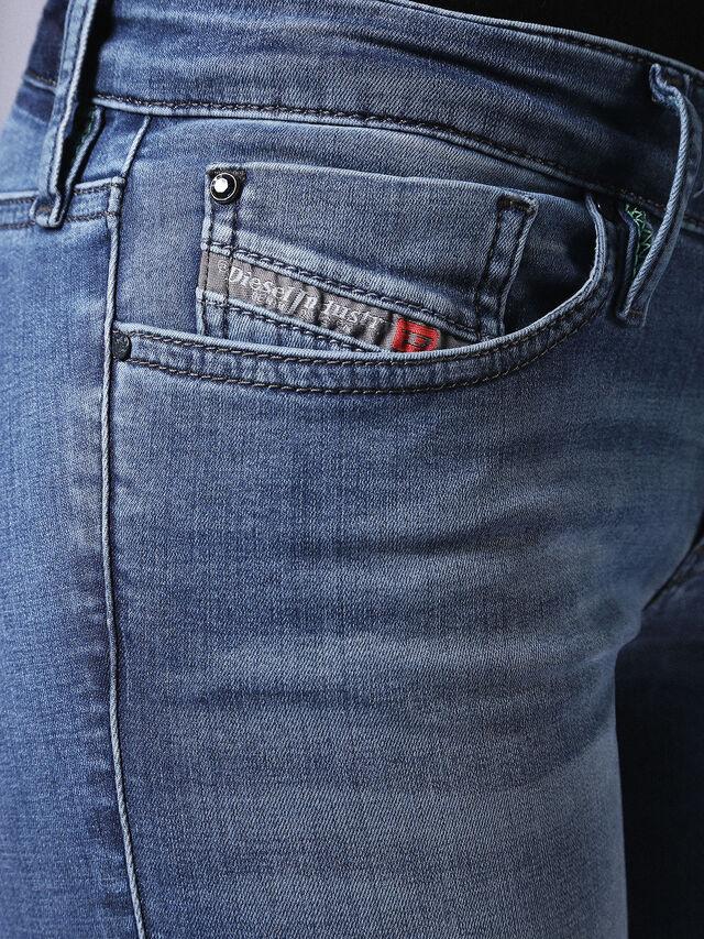 Diesel Skinzee Low 0681P, Medium blue - Jeans - Image 3