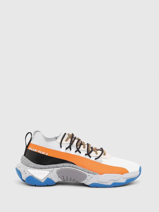 S-KIPPER BAND, White/Orange - Sneakers