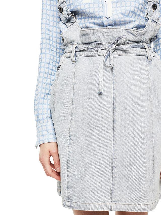 Diesel - ANNETTE, Light Blue - Skirts - Image 5