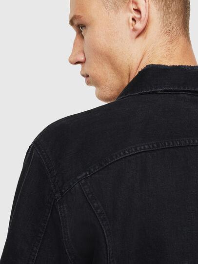 Diesel - D-BRAY, Black - Denim Jackets - Image 6