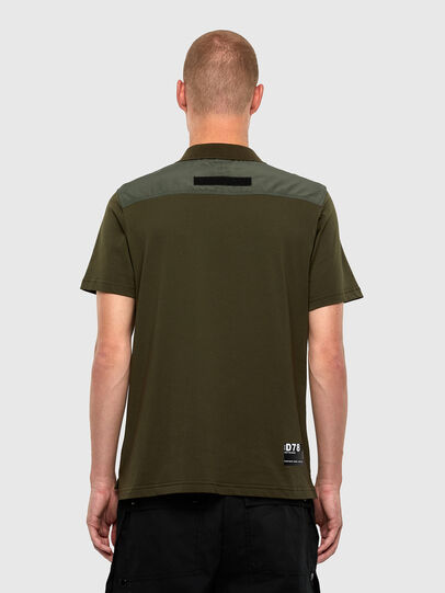 Diesel - T-HARLY, Military Green - Polos - Image 2