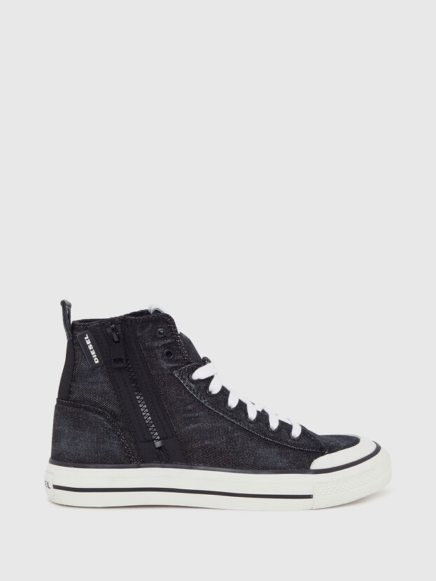 S-ASTICO MID ZIP W, Black - Sneakers
