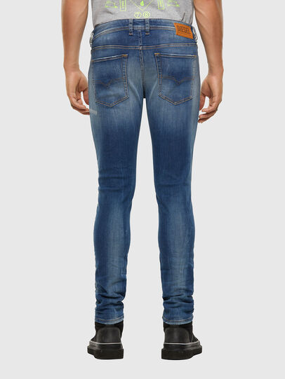 Diesel - Sleenker 009FC, Medium blue - Jeans - Image 2