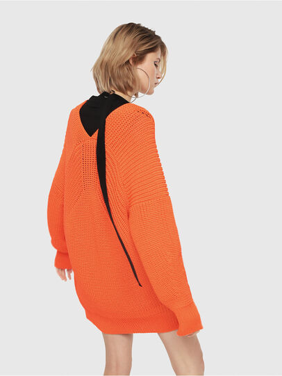 Diesel - M-CRI, Orange - Knitwear - Image 2