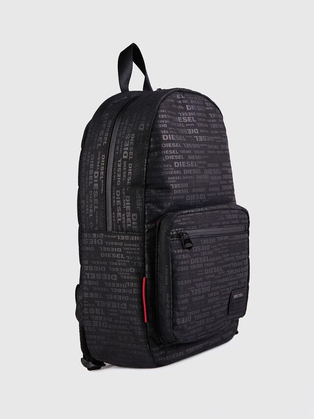 Diesel - F-DISCOVER BACK, Black/Red - Backpacks - Image 2