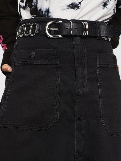 Diesel - D-RHITA JOGGJEANS, Black - Skirts - Image 3