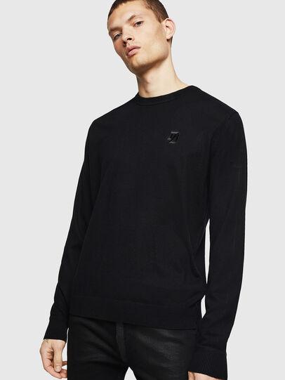 Diesel - K-JOEY, Black - Knitwear - Image 1