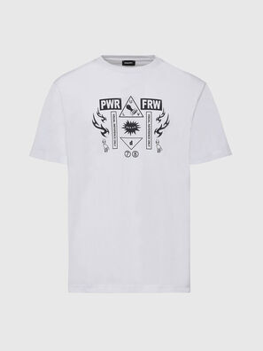 T-JUST-X65, White - T-Shirts