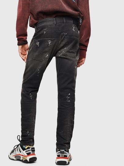 Diesel - Krooley JoggJeans 084AE, Black/Dark grey - Jeans - Image 2