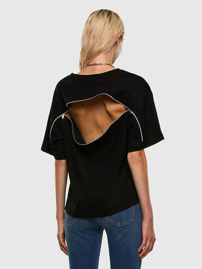 Diesel - T-BOWLY, Black - T-Shirts - Image 6