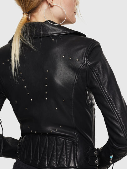 Diesel - L-SINYA-A,  - Leather jackets - Image 2