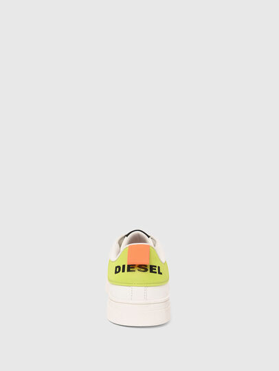Diesel - S-CLEVER LOW LACE, White/Yellow - Sneakers - Image 5