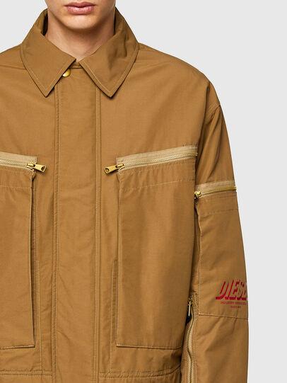 Diesel - J-THOMPSON, Light Brown - Jackets - Image 4