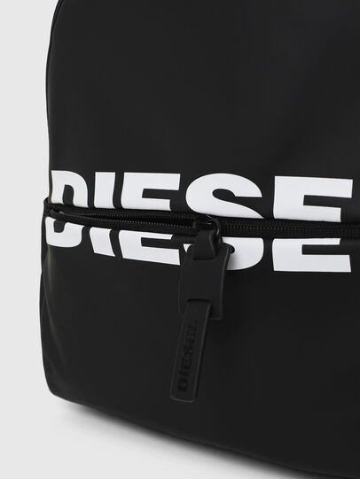 Diesel - F-BOLD BACK FL, Bright Black - Backpacks - Image 4