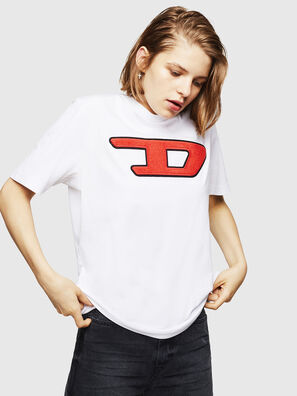 T-JUST-DIVISION-D-FL, White - T-Shirts