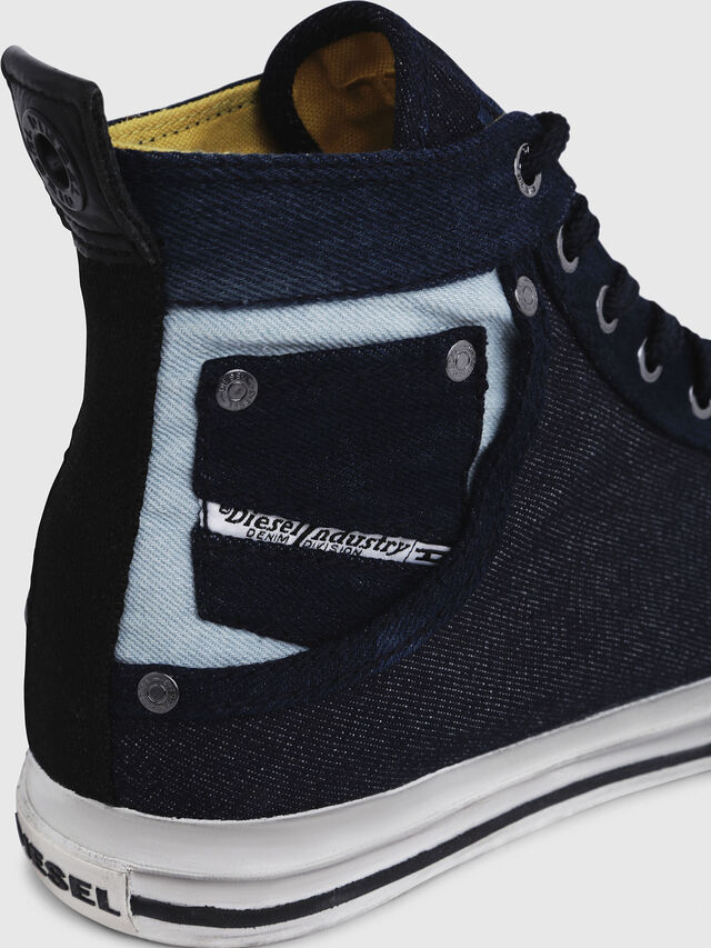 Diesel - EXPOSURE I, Dark Blue - Sneakers - Image 5