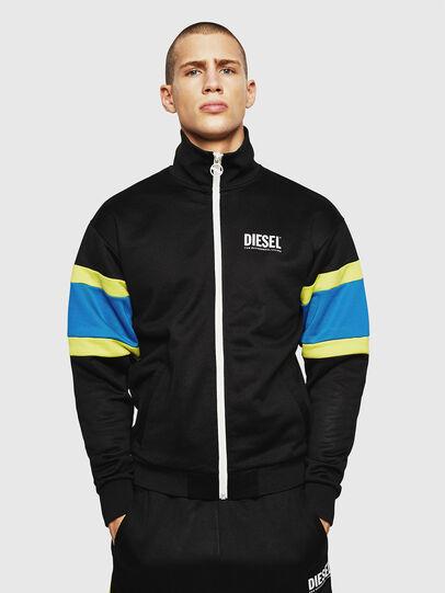 Diesel - S-AKON, Black - Sweaters - Image 1
