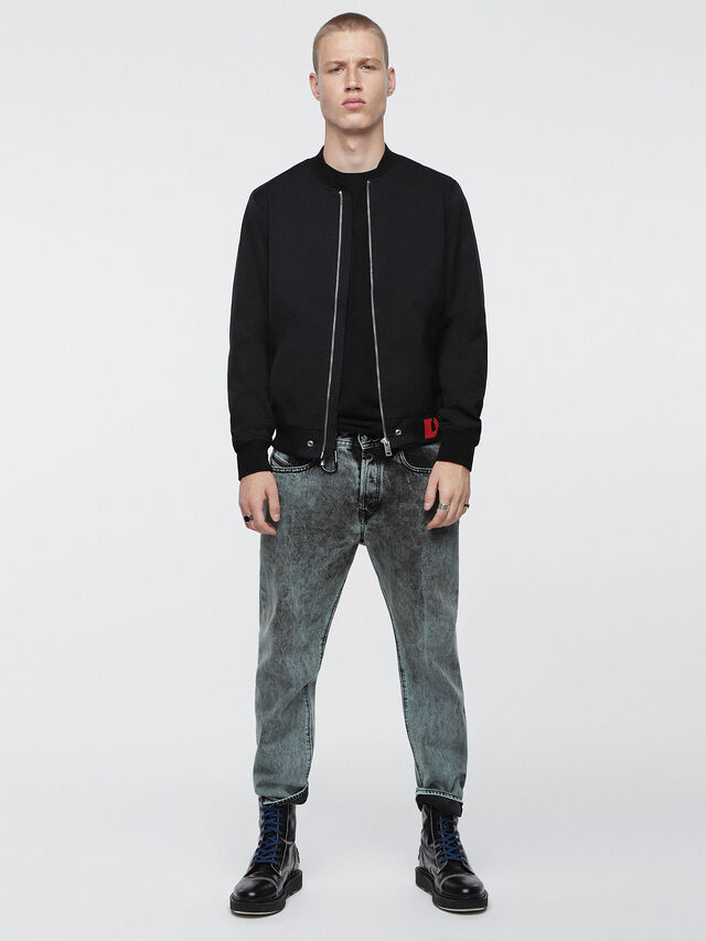 Diesel - J-GATE, Black - Jackets - Image 4