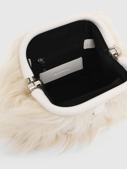 Diesel - CUTYE F, White - Crossbody Bags - Image 3