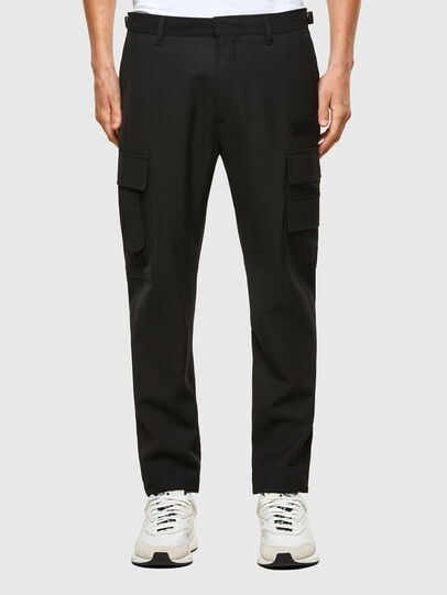 Diesel - P-HOMEN, Black - Pants - Image 1