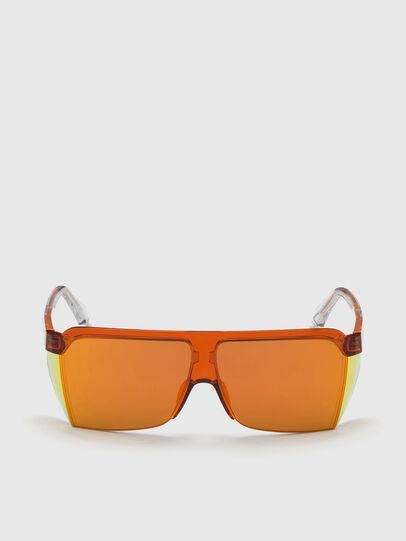 Diesel - DL0319, Orange - Sunglasses - Image 1
