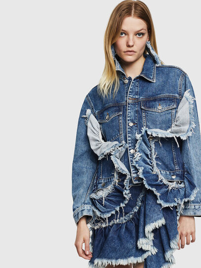 Diesel - DE-ABBY,  - Denim Jackets - Image 1