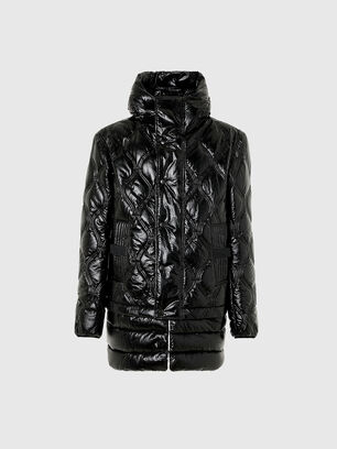 W-CRAWFORD-SHINY, Black - Winter Jackets