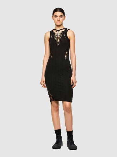 Diesel - D-BRAIDEN, Black - Dresses - Image 1