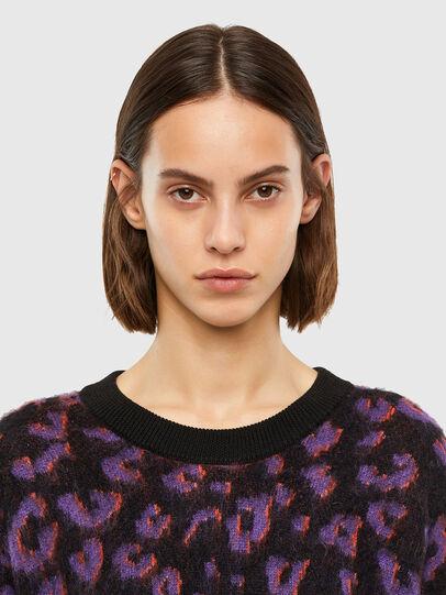 Diesel - M-RHONDA, Violet/Black - Knitwear - Image 3