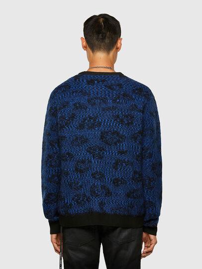 Diesel - K-AZOTIC, Black/Blue - Knitwear - Image 2