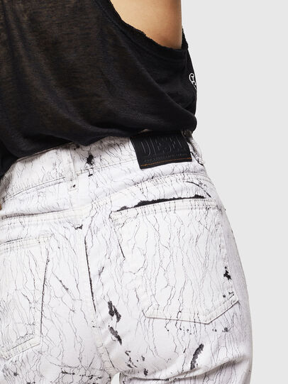 Diesel - D-Eiselle 069JJ, White - Jeans - Image 4