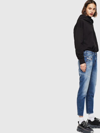 Diesel - Fayza 0097B, Medium blue - Jeans - Image 5