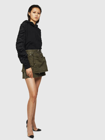 Diesel - O-LADEL, Military Green - Skirts - Image 6