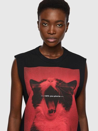 Diesel - T-PUNKYERN, Black - T-Shirts - Image 3