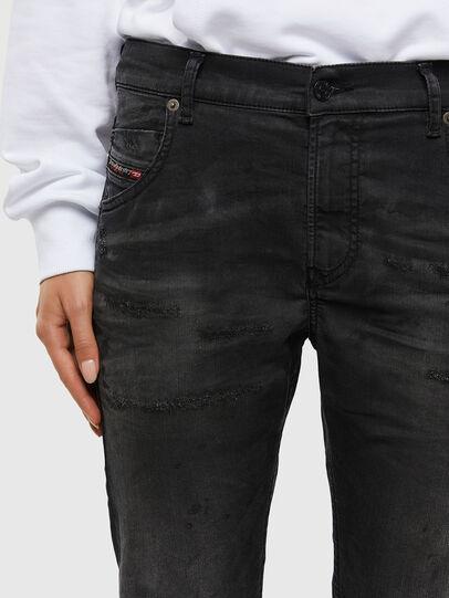Diesel - KRAILEY JoggJeans® 069QL, Black/Dark grey - Jeans - Image 3